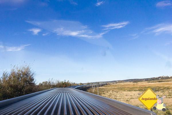 Visão do trem a partir do vagão panorâmico. Imagem: Erik Araújo