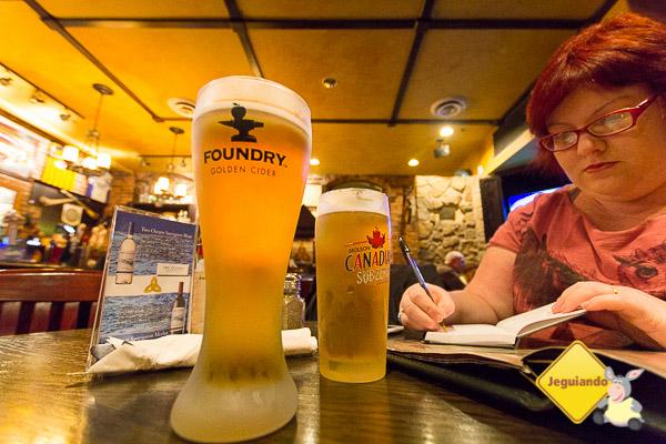 Cidra para o Erik, cerveja para mim. Imagem: Erik Araújo