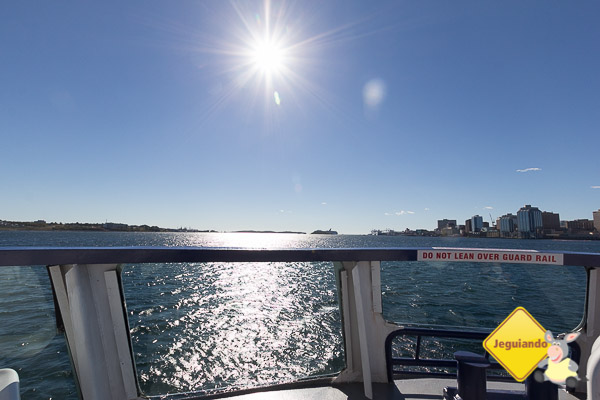 Ferry boat que conecta Halifax Harbour a Darmouth. Imagem: Erik Araújo
