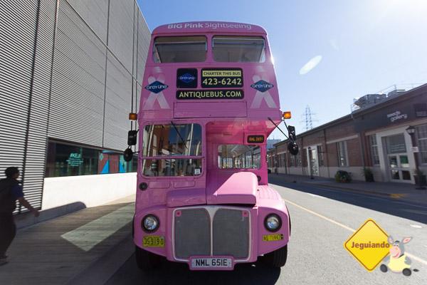 Ônibus da Ambassatours Gray Line. Imagem: Erik Araújo