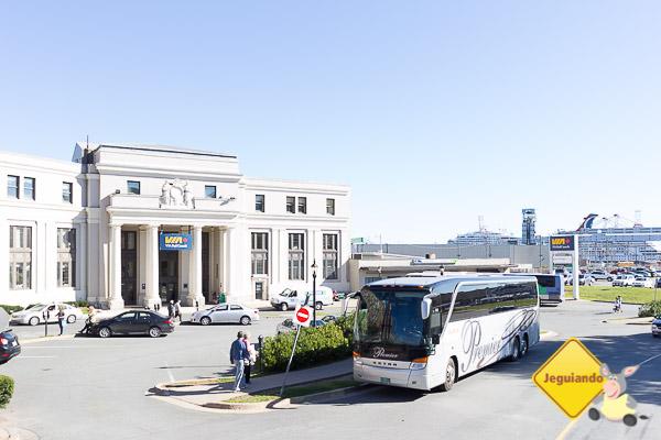 Estação de trem da Via Rail, próxima ao Seaport. Imagem: Erik Araújo