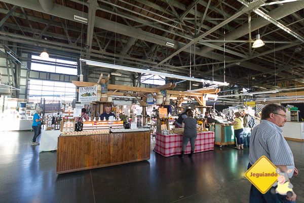 Halifax Seaport Farmer's Market. Halifax, Nova Scotia. Imagem: Erik Araújo