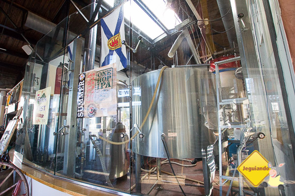 Garrison Brewing Company. Seaport, Halifax, Nova Scotia. Imagem: Erik Araújo
