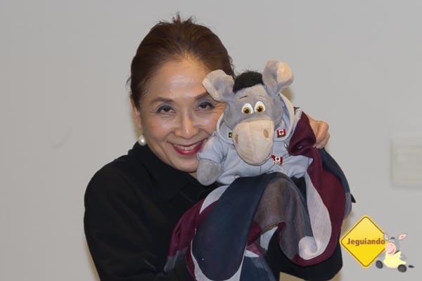 A admirável Sra. Aoki e Jegueton. Imagem: Erik Araujo