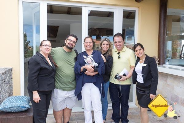 Denise Garcia, Erik, Alessandra Gaudio, Jegueton, Thais Medina, João Paulo Benini e Clarissa Prado. Imagem: Juliana Batista