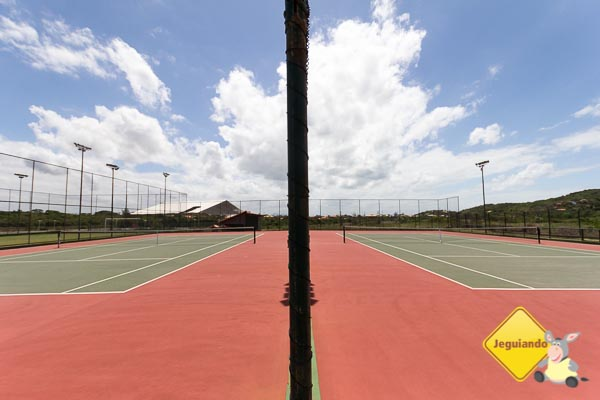 Quadras de tênis. Imagem: Erik Araujo