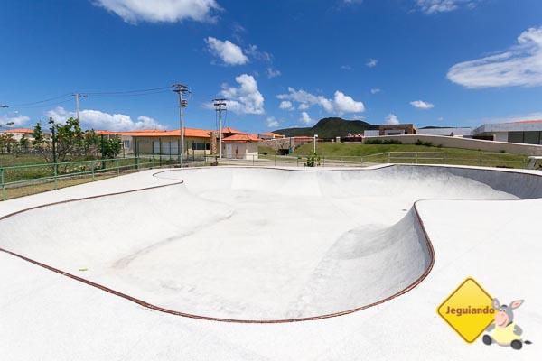 """Pista de Skate assinada por Sandro Dias, o """"Mineirinho"""". Imagem: Erik Araujo"""