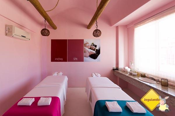 Sala dupla para massagem. Imagem: Erik Araujo