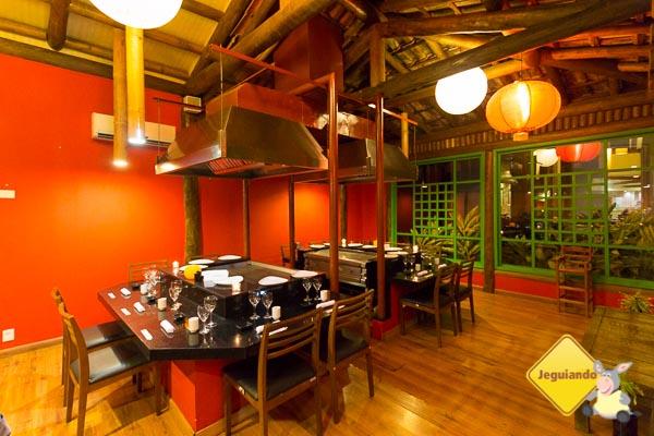 Salão do Restaurante Moshi Moshi. Imagem: Erik Araujo