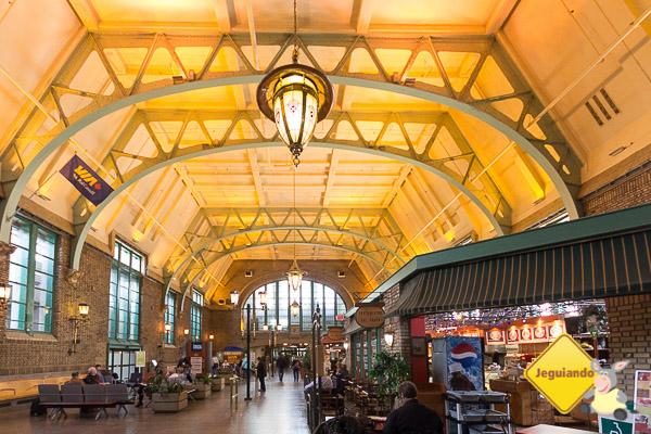 Gare du Palais, estação de trem da Via Rail em Québec City. Imagem: Erik Araújo