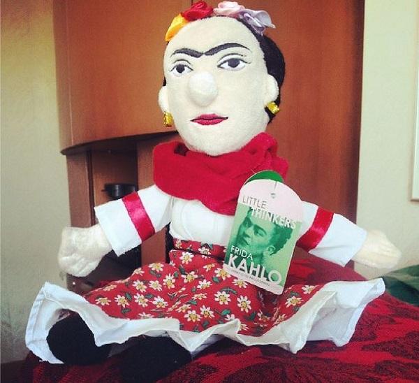 Frida, que agora enfeita nossa casa. Imagem: Janaína Calaça