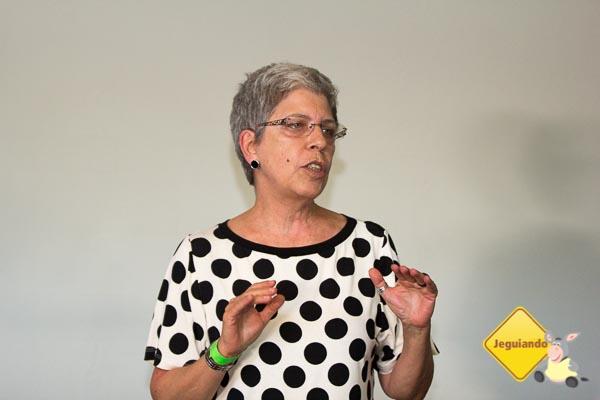 Rosely Sayão palestra sobre infância, novas gerações e futuro. Imagem: Erik Araújo