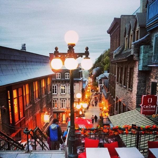O charme de Québec City. Imagem: Janaína Calaça