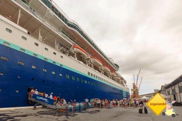 Splendour of the Seas, aportado em Salvador. Imagem: Erik Araújo