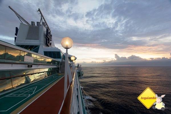 De Salvador rumo ao Rio de Janeiro, a bordo do Splendour of the Seas. Imagem: Erik Araújo