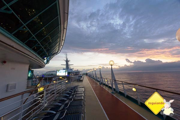 A bordo do Splendour of the Seas. Imagem: Erik Araújo