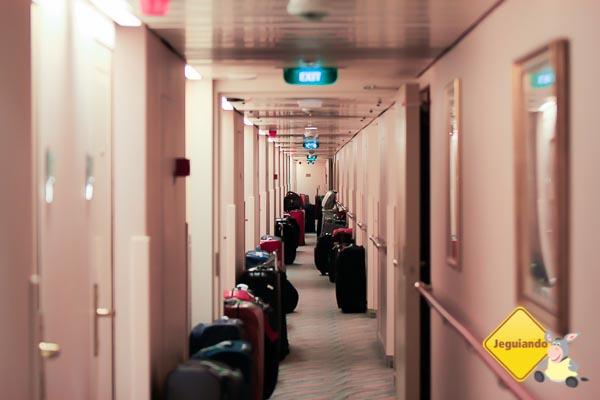 Menos bagagem é mais conforto durante a viagem. Imagem: Erik Araújo