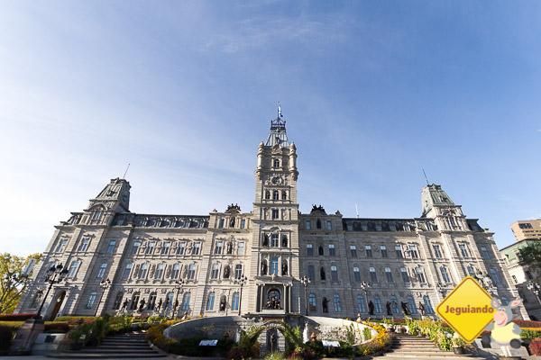 Hôtel du Parlement. Québec City, Québec. Imagem: Erik Araújo