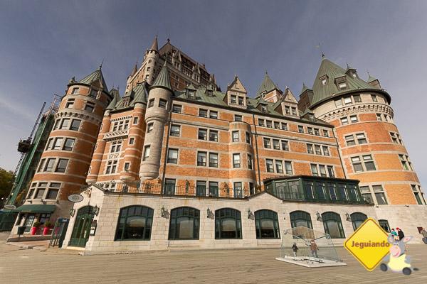 Château Frontenac. Vieux-Québec. Imagem: Erik Araújo