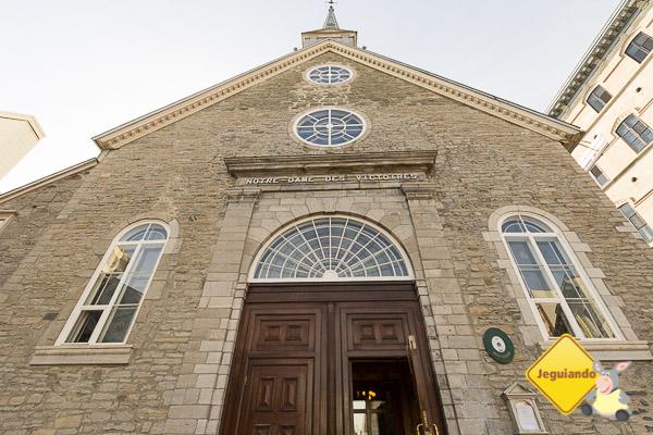 Église Notre-Dame-des-Victoires. Vieux-Québec. Québec City. Imagem: Erik Araújo