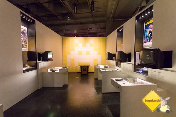 "Musée de La Civilisation. Exposição ""Game Story"". Québec City, Québec. Imagem: Erik Araújo"