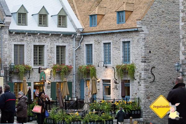 Vieux-Québec. Imagem: Erik Araújo