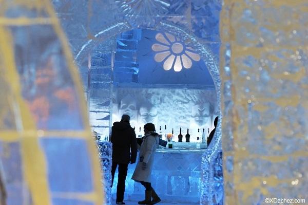 Hotel de gelo, em Québec City. Imagem: Xavier Dachez