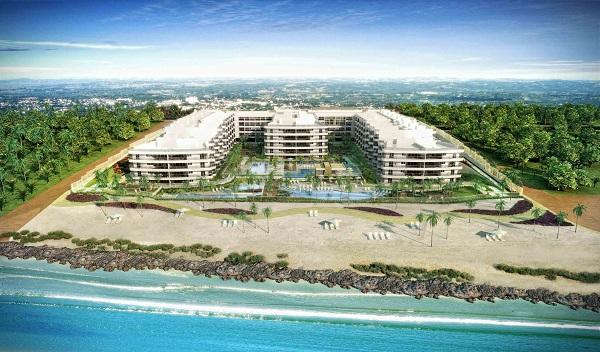 In Mare Bali, debruçado sobre a praia do Cotovelo, no Rio Grande do Norte, é o mais novo empreendimento da Cyrela Plano & Plano. Imagem: Divulgação