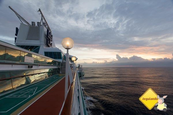 O mar é sempre um bom lugar para estar. Imagem: Erik Araújo