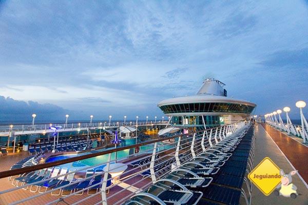 Splendour of the Seas navegando. Imagem: Erik Araújo