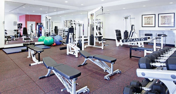 Fitness Center. Delta Quebec. Quebec City, Quebec. Imagem: Delta Hotels
