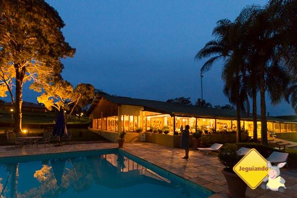 Broa Gof Resort à noite. Imagem: Erik Araújo