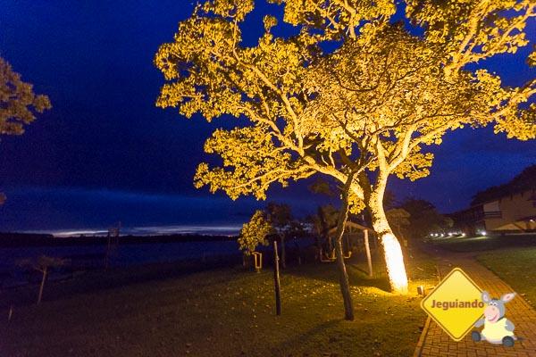 Broa Golf Resort à noite. Imagem: Erik Araújo