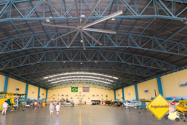 Hangar do Broa Golf Resort. Itirapina, São Paulo. Imagem: Erik Araújo