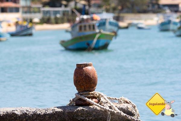 Atracadouro na Praia da Armação - Búzios, RJ. Imagem: Erik Araújo
