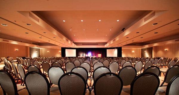 Salão de eventos e conferências. Delta Quebec. Quebec City, Quebec. Imagem: Delta Hotels