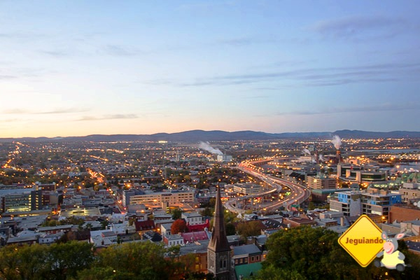 Vista do Delta Quebec. Quebec City, Quebec, Canadá. Imagem: Erik Araújo
