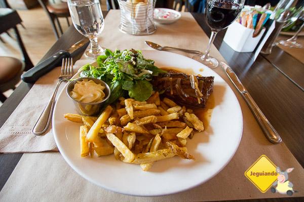 Vista do Café Sirocco. Québec City, Québec. Imagem: Erik Araújo