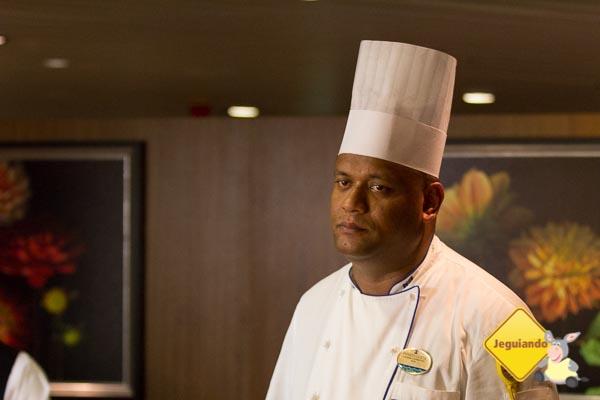 Chef Renato Costa, que assinou nosso jantar no Chefs Table. Imagem: Erik Araújo