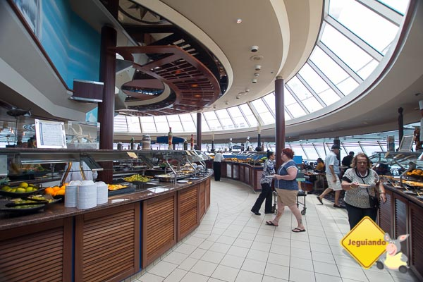 Windjammer Café. Splendour of the Seas. Imagem: Erik Araújo