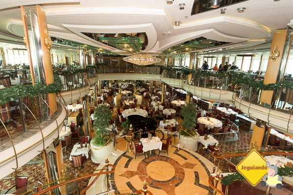 King & I Dining Room. Splendour of the Seas. Imagem: Erik Araújo