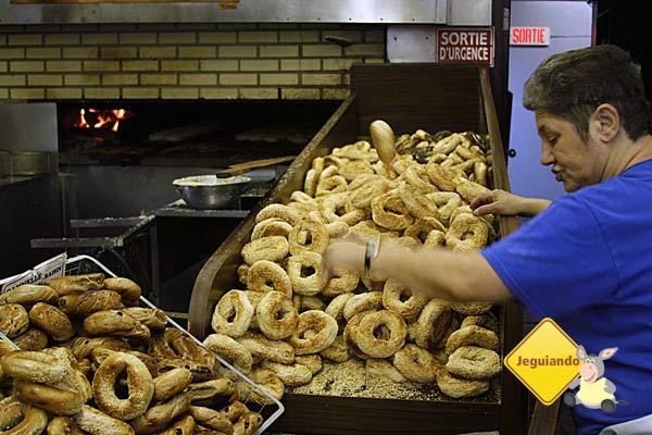 St-Viateur Bagel, uma das mais tradicionais lojas de bagels de Montréal. Imagem: Erik Araújo