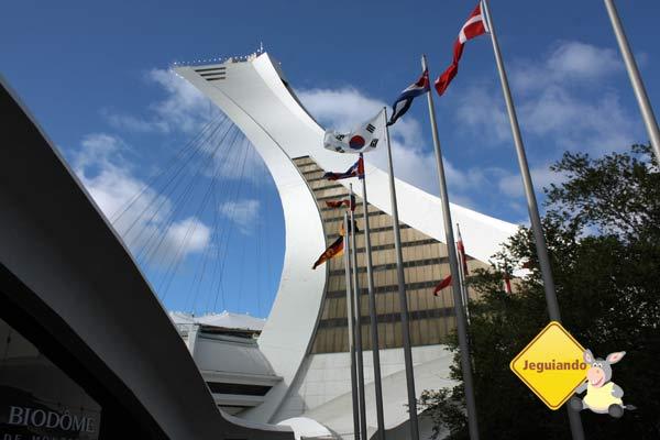 Torre de Montréal. Parc Olympique de Montréal. Montréal, Québec. Imagem: Erik Araújo