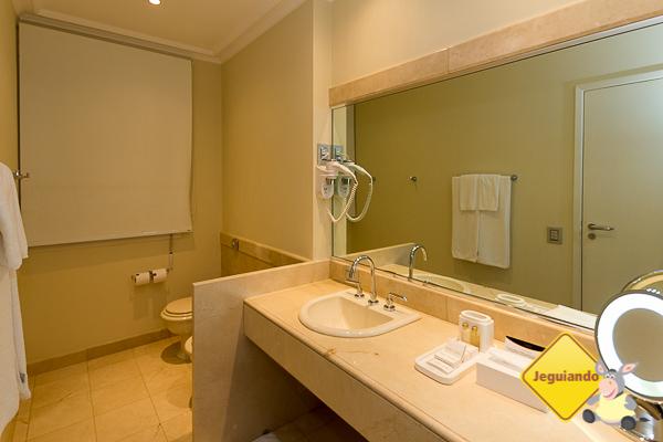 Banheiro do nosso quarto. Imagem: Erik Araújo