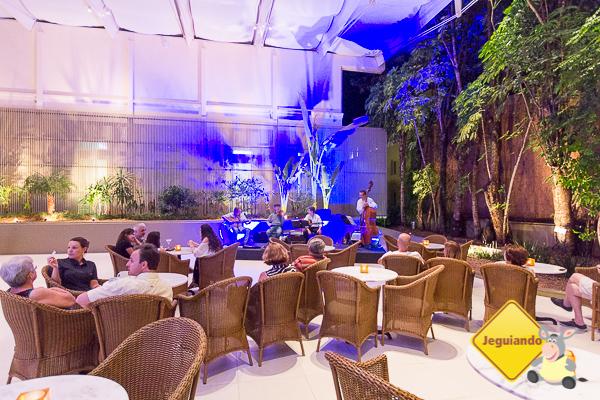 Músicos embalando os hóspedes do Grande Hotel São Pedro. Imagem: Erik Araújo