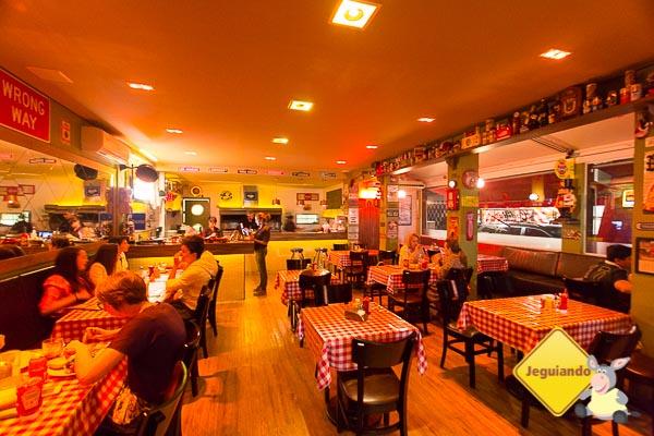 O Salão do Cadillac Burger. Imagem: Erik Araújo