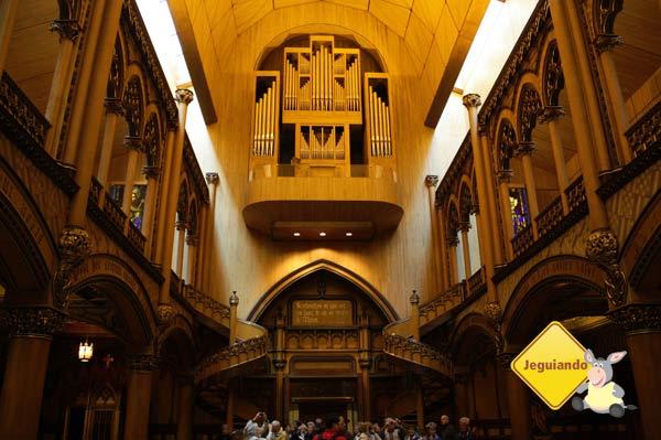 Basílica de Notre-Dame. Montréal, Canadá. Imagem: Erik Araujo