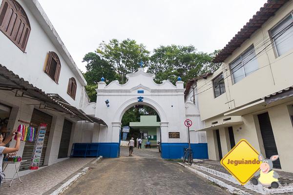 Portão principal do Convento da Penha. Imagem: Erik Araújo #DescubraoES
