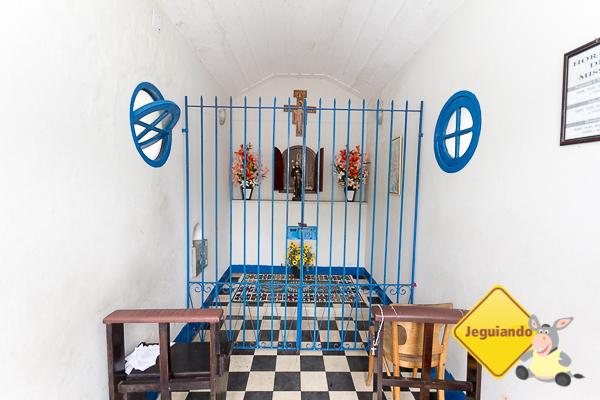 Interior da Capela de Nossa Senhora da Penha. Imagem: Erik Araújo #DescubraoES