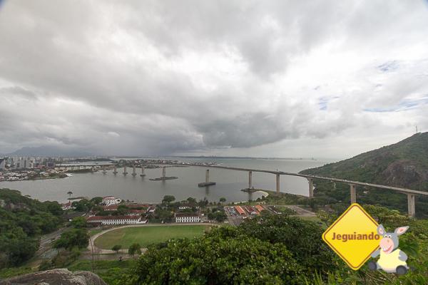 """A """"Terceira Ponte"""" o principal acesso entre Vitória e Vila Velha - ES. Imagem: Erik Araújo #DescubraoES"""